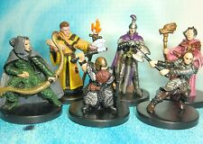 Dungeons & Dragons Miniatures Lot  Ranger Mage Cleric Paladin Fighter !!  s112