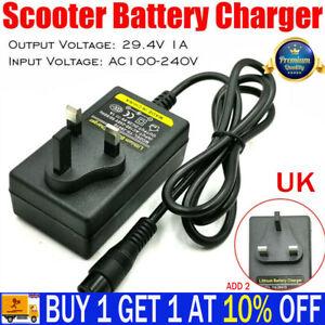 Battery Charger 24V for Electric Razor Scooter e100/150/125 Trikke E2 X-Treme JP