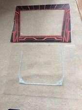 Vintage Original Discs of Tron Video Arcade Machine DOT EDOT Plastic Bezel Set