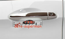 Steel door handle cover chrome trim For HONDA CIVIC CRV 2012 2013 2014 2015 2016