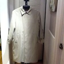 RALPH LAUREN MEN'S TRENCH COAT WITH EXTRA LINING SIZE- 42R