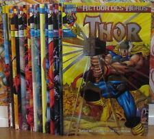 THOR : Le Retour Des Héros / Série Incomplète (16 Tomes) / Marvel France/ Comics