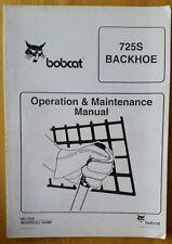 Bobcat 725S Terna operatori manuale