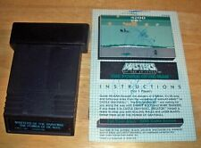 MASTERS OF THE UNIVERSE THE POWER OF HE MAN W/ MANUAL ATARI 2600 Video Game RARE