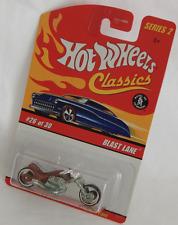 Hot Wheels Classics Blast Lane Spectra Flame Orange Motorcycle Wheels S2 26/30