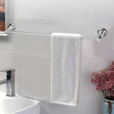 Modern Single Shot Bathroom Towel Bar Brushed Nickel 23.6-Inch Towel Rack