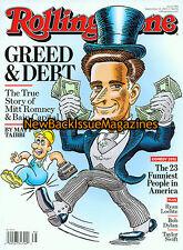 Rolling Stone 9/12,Mitt Romney,September 2012,NEW
