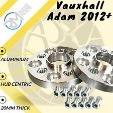 Blackline ensanchamiento 20mm con tornillos plata 4x100 Opel Adam S-D 2012