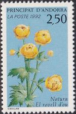 French Andorra #418 MNH CV$1.25 Globeflower