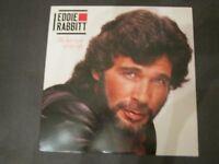 "EDDIE RABBITT LP "" The Best Year of My Life"" 19841st WBpress NM / NM"