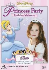 Princess Party Birthday Celebrations (DVD, 2004)