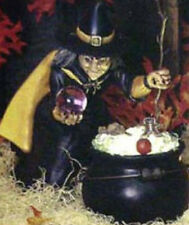 """Ceramic Bisque Ready to Paint  Extra Large Witch clipin light included 17"""" tall"""