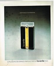 Publicité Advertising 1977 Le Parfum Torrente Paris