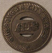 Vintage Sheboygan Wisconsin City Lines Bus Transit Token Selling Collection