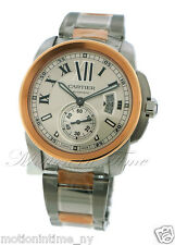 Cartier Calibre Automatic 18kt Rose Gold & Steel Two-Tone 42mm Ref #W7100036