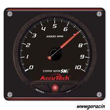 Longacre AccuTech Stepper Motor Memory Tachometer with Aluminum Panel-Tach-Spek-