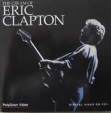 ERIC CLAPTON - THE CREAM OF ERIC CLAPTON  - CD-I - 2 CD (VIDEO CD)