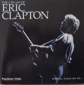 ERIC CLAPTON - THE CREAM OF ERIC CLAPTON  - CD-I - 2 CD (VIDEO CD)