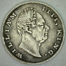 1835 228-C Silver India British Rupee Coin VF-XF KM #450.1 William IV  K28