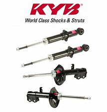Toyota Corolla 2009-2010 Set of 2 Rear + 2 Front Shock Absorbers KYB Excel-G