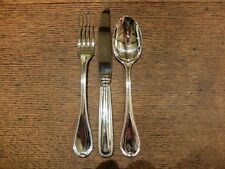 Robbe&Berking 'Franzosisch-Peri' Sterling Table KnifeTable Fork&Dessert Spoon