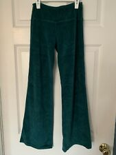 LUNA LUNA Copenhagen Boutique VELOUR Green PANTS Size 12 Years NWT