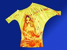Moderne Tunique Haut pour Femmes Chemise Stretch Gr. M sans Bretelles
