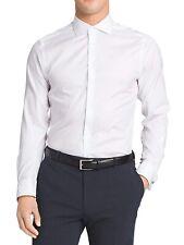 Calvin Klein Mens Dress Shirt White US Size 14 1/2 Slim Fit Performance $75 #807