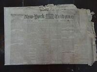 HISTORIC February 3, 1865 New York Tribune Civil War Newspaper
