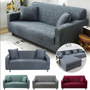 Couch Sofa Stretch Cover for Living Room Cross Striped Sofa Universal Slipcovers
