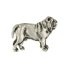 Neapolitan Mastiff, silver covered pin, high qauality Art Dog Ca