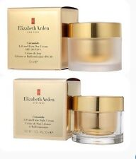 Elizabeth Arden Ceramide Anti Aging Lift and Firm Night & DAY Cream. 1.7 oz, NIB
