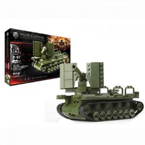 Toy Construction Building Set artillery unit SAU S-51 World of Tanks 242 pcs