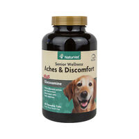 NaturVet Senior Dog Aches & Discomfort Joint Health Support Glucosamine  60 ct.