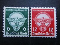 Germany Nazi 1939 Stamps MNH Swastika Eagle victor's plaque WWII Third Reich Ger