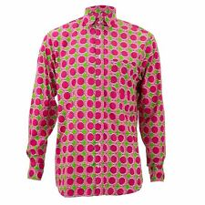 Regular Fit Long Sleeve Shirt Loud Originals Pink Tropical Eggs Psychedelic