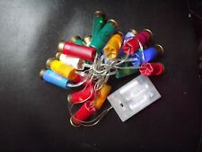 Battery Powered Indoor Party Christmas lights made from recycled Shotgun Shells