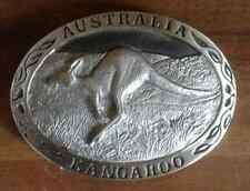 Gürtel Wechsel Schnalle Känguru 7,5cm Gürtelschliesse Buckle Australien Outback