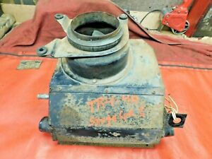 Triumph TR4, Smiths Heater Assembly w/ Working Blower Motor & Heater Core,