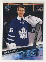 2020-21 Upper Deck #208 Joseph Woll YG RC Toronto Maple Leafs Young Guns BX3