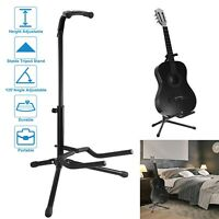 Acoustic,Electric,Bass 2 Tier Guitar Stand Adjustable Folding Tripod Stand New