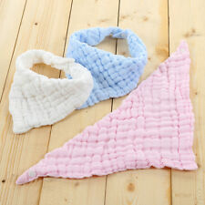 Infant Baby Boy Girl Bibs Feeding Saliva Towel Dribble Triangle Bandana WS
