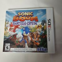 Sonic Boom: Shattered Crystal (Nintendo 3DS, 2014) Complete