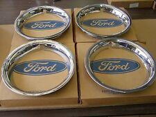 NOS OEM Ford 1967 Mustang Styled Steel Wheel Trim Rings 1969 1970 Cougar Comet