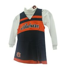 Auburn Tigers NCAA Youth Kids Girls Size 2-Piece Cheerleader Outfit New W Tags
