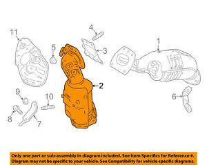 TOYOTA OEM-Exhaust Manifold 171500P330