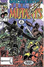 The New Mutants  Comic Book Special #1 Marvel Comics 1985 VERY FINE+ NEW UNREAD