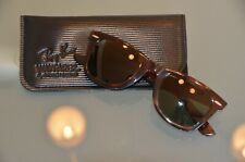 Genuine Vintage Ray Ban Bausch & Lomb USA Wayfarer B & L 5024 Mock Tortoise !!!