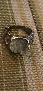 Healing crystal ring. Size 10