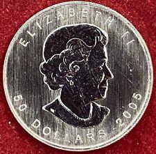 Canada 1 oz Palladium 50 Dollars 2005 Maple Leaf BU